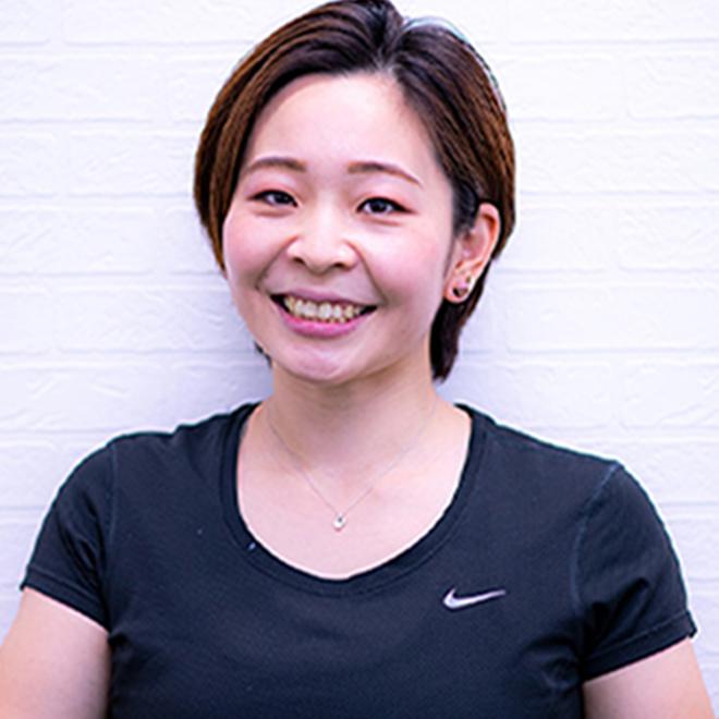 チーフトレーナー/トレーナー指導 田所 茉麻